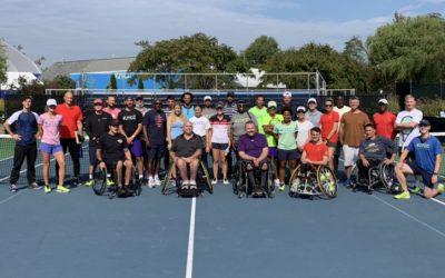 JTCC Hosts Inaugural Wheelchair Tennis Tournament & Certifies Staff