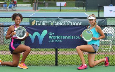 International Hardcourt ITF Junior Tournament presented by Laurel Springs School Returns to JTCC