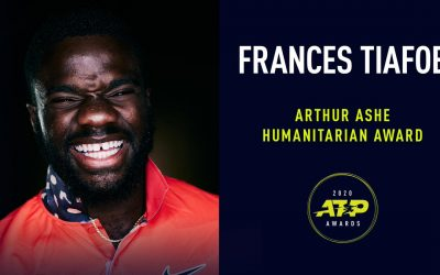 Frances Tiafoe Recognized For His Commitment To Make A Difference